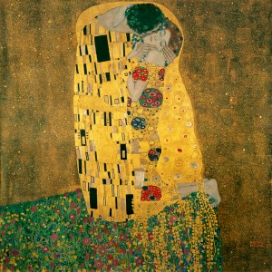 Kiss by Gustav Klimt