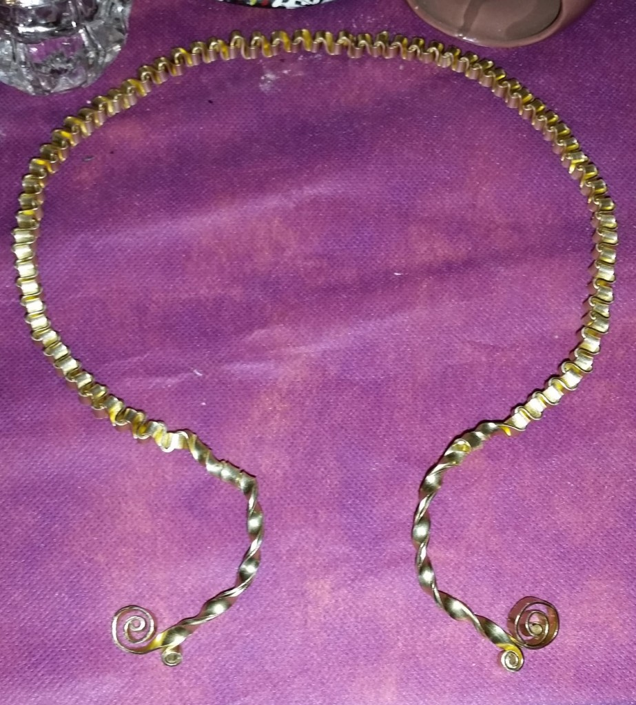 Queenly Wire Braided Torc